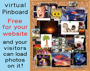 The VIRTUAL PINBOARD for your website!